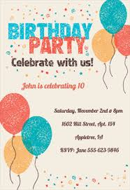 Free Printable Birthday Invitation Templates For Kids | Greetings ... Celebrate with Us