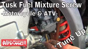 Tusk <b>Fuel Mixture Screw</b> Installation & Tuning - Motorcycle & ATV ...
