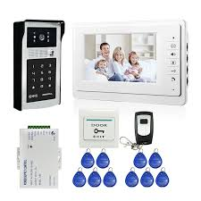"MILEVIEW Wired <b>7</b>"" <b>Video Door</b> Phone Doorbell <b>Video Intercom</b> ..."