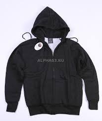 "<b>Толстовка</b> ""Thermal Zipper <b>Hooded</b>"" <b>Black</b>"