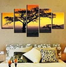 Buy Modern HD Printed Canvas Painting <b>5 Piece</b> Wall Art <b>Modular</b> ...