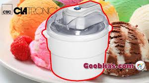 <b>Мороженица CLATRONIC ICM 3581</b> - YouTube