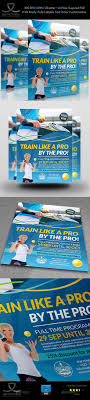 tennis training flyer template by owpictures graphicriver tennis training flyer template sports events
