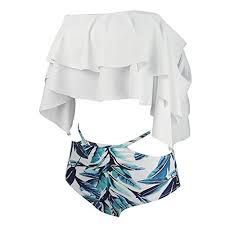 Pin by karmin on wishlist in <b>2019</b> | Flounce bikini, Swimsuits, Ruffle ...