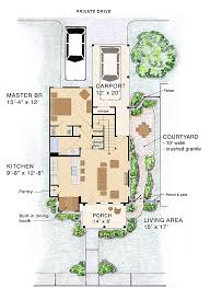 House Plan at FamilyHomePlans comCottage Craftsman House Plan Level One
