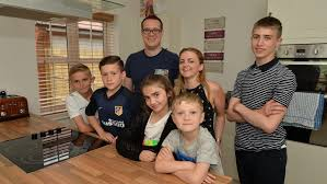 A family home thanks to Help to Buy   Case Studies   WhatHouse Case Studies  Gary and Michelle with their children