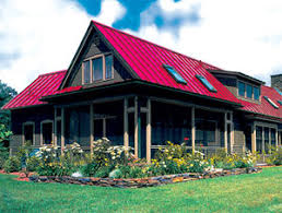Building   metal roof material for a smaller homemetal roofing material
