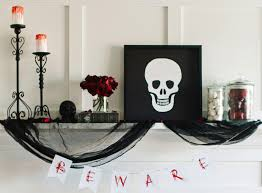 ideas outdoor halloween pinterest decorations: diy halloween decorations home decor and decorating ideas  ways to decorate a fireplace mantel for