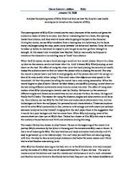 billy elliot essay  wwwgxartorg analyse the opening scene of billy elliot and discuss how the page zoom in