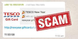 Tesco New Year Scam Alert : Do NOT Click / Forward! | Tech ARP