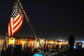 u s department of defense photo essay flags fly during a reception held on board amphibious dock landing ship uss carter hall in