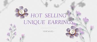 Viennois Black Dangle <b>Earrings</b> For Women <b>Drop Earrings</b> Fashion ...
