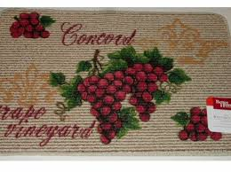 grapes grape themed kitchen rug:  cebbcd b