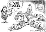 posturing