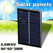 Shop Generic <b>0.6W 6V</b> 90*60*3MM solar energy drip board DIY ...
