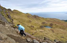 photo essay a hidden gem in the highlands com skye means cloudy in old norse but we were blessed a rain morning and made our ascent up the mountain side dry footing and relatively