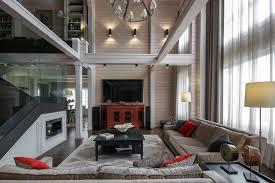 Интерьер дома из клееного <b>бруса</b> в стиле Эклектика | Проекты ...