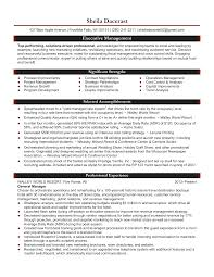 professional resume samples by julie walraven cmrw general manager hospitality resume sample