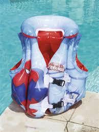 """<b>Надувной жилет</b> с воротником """"Человек-паук"""", 51х46 см <b>Bestway</b> ..."""