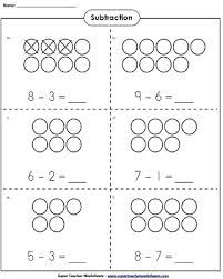 Basic Subtraction WorksheetsSubtraction Worksheets