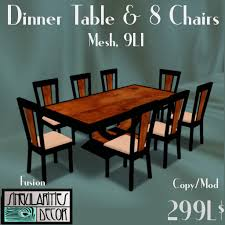 french art deco dining table and 8 chairs fusion series black lacquer and art deco dining table 8