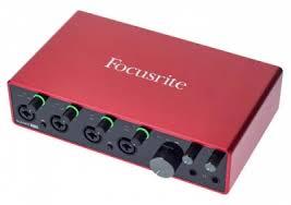 Внешняя звуковая карта <b>Focusrite Scarlett 18i8</b> 3rd Gen купить в ...