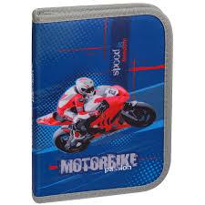 <b>Пенал</b> 1 отделение, 200*140*40 <b>Berlingo Motorbike</b> passion ...
