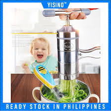 <b>5 Mode Stainless Steel</b> Pasta Noodle Maker Machine | Shopee ...
