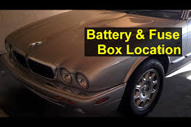 jaguar battery and fuse box location, battery removal, and battery Spark From Auto Fuse Box When Replacing A Fuse jaguar battery and fuse box location, battery removal, and battery boosting auto repair series youtube