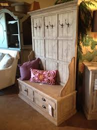 entryway hall tree coat hanger with storage bench from reclaimed wood planks with cup drawer pulls amazing entryway furniture hall tree image