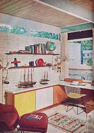 1960 home office mid century modern interior design vintage architecture vintage decor architecture home office modern design