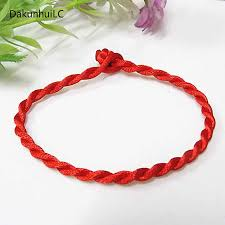 <b>Hot Sale 2019 1PC</b> Fashion Red Thread String Bracelet Lucky Red ...