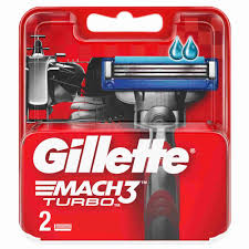 <b>Кассеты д</b>/<b>станка</b> мужские <b>Gillette</b> Mach3 Turbo 2шт - купить с ...