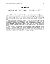 chapter  science and technology in modern society   science    page