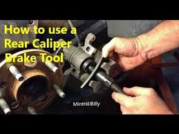 How to use a Rear Brake Caliper Tool - Tutorial / Demonstration ...