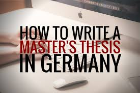 welcome to germerica top tips for writing a master s thesis in if you are doing a classic 4 semester master s program then i suggest you begin looking for a topic and supervisor at the start of your third semester