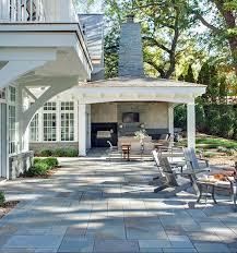 working creating patio: bluestones patio flooring shingle style residence on lake minnetonka designed by swan architecture