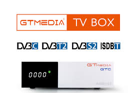 <b>GTmedia GTC</b> Satellite Receiver <b>DVB</b>-S2 <b>DVB</b>-<b>C DVB</b>-<b>T2</b> ISDB-T ...