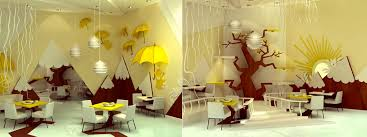 wall decor kids room  yellow wall decor inspiration