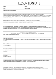 lesson plan templates common core preschool weekly lesson plan template 06