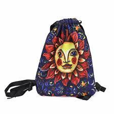 women print waterproof nylon backpack teenagers girls school bag student cute floral printing sweet travel fashion