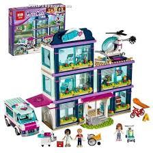 """<b>Конструктор</b> аналог Лего Френдс """"Клиника Хартлейк-Сити"""" Lepin ..."""