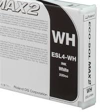<b>Roland ECO</b>-<b>SOL MAX</b> 2 <b>White</b> 220ml | Grafityp UK Limited