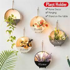 1PCS Romantic Iron Hanging Succulent <b>Heart</b> Shape <b>Wreath Frame</b> ...