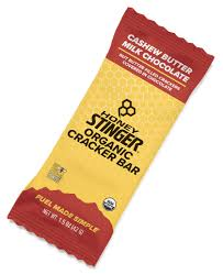 <b>Cashew Butter</b> Milk Chocolate <b>Organic</b> Cracker Bars | Honey Stinger