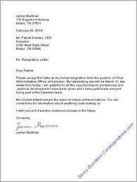 ideas about resignation letter on pinterest   sample    resignation letter