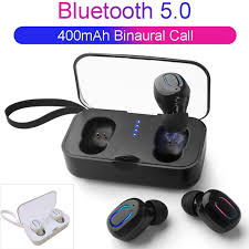 <b>T18S Invisible Wireless Earbuds</b> Bluetooth Earphone 5.0 TWS Mini ...