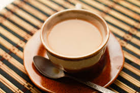 Image result for cup of creamy hot tea