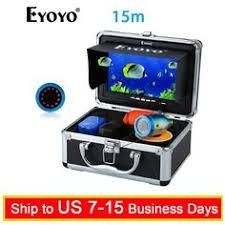 "Ad(eBay) <b>EYOYO 15M</b> 7"" IR +White LED Lights Underwater <b>Fishing</b> ..."