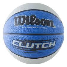<b>Мяч баскетбольный WILSON Clutch</b> 295, резина, син-чер-сер ...